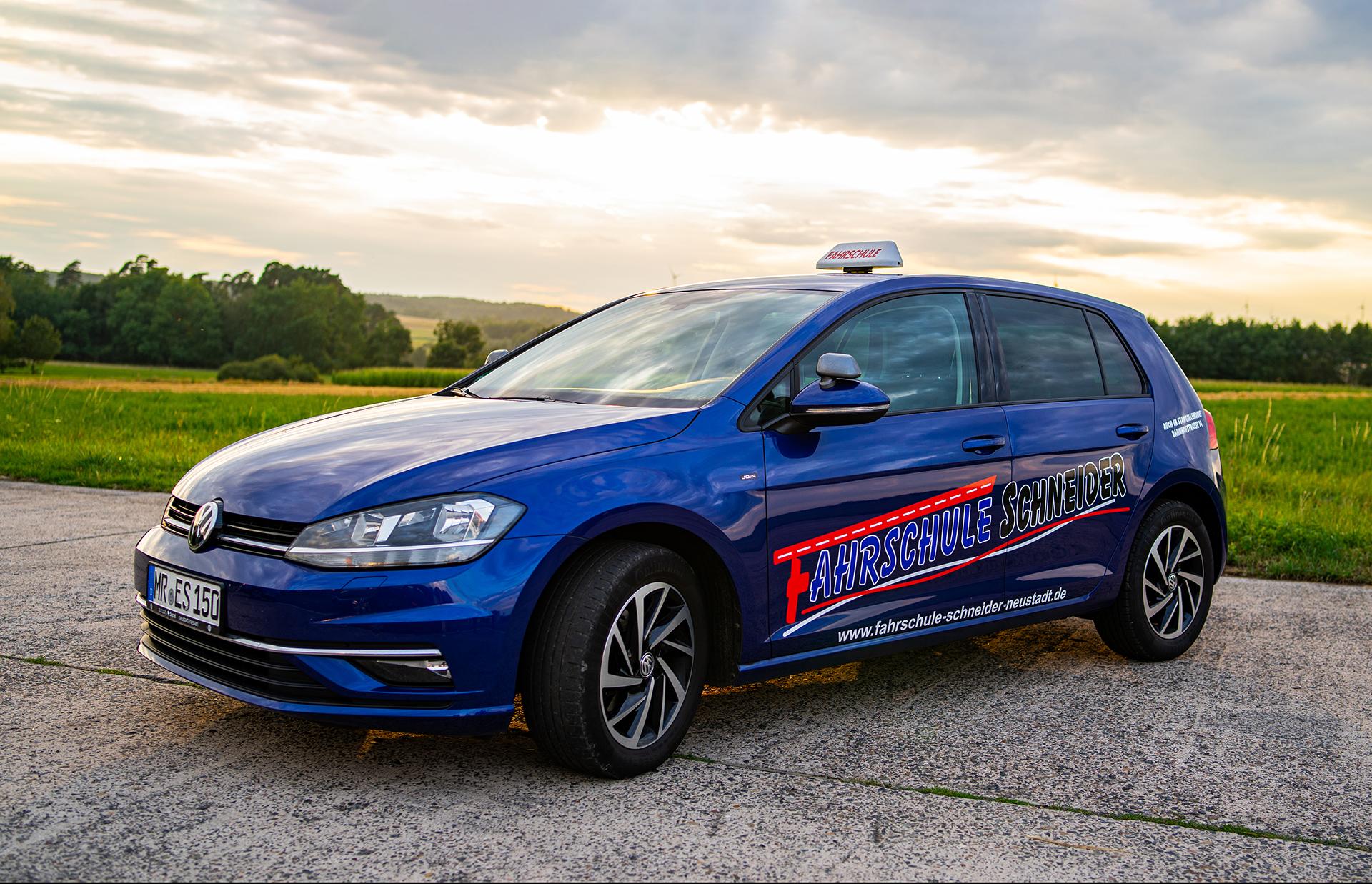VW Golf Fahrschule Schneider Neustadt