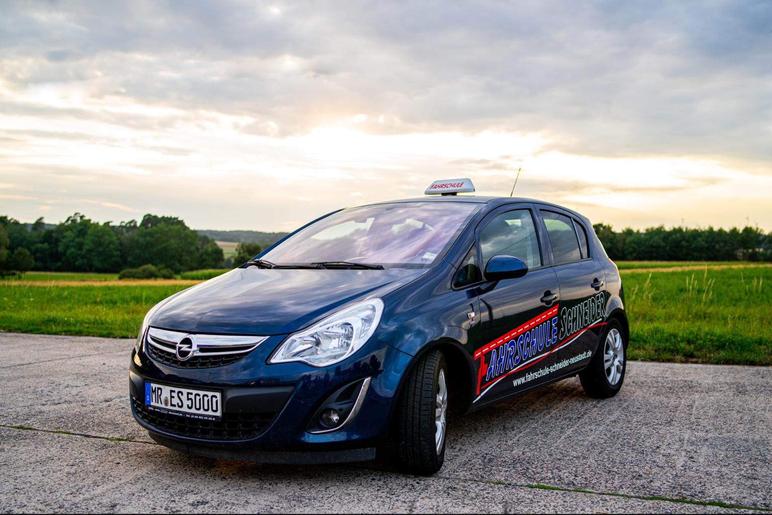 Opel Corsa Fahrschule Schneider Neustadt